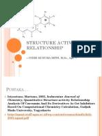 Pengantar Hubungan Struktur & Aktivitas Biologis