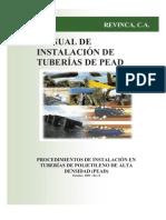 Manual de instalación Tubería HDPE