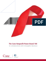 2009 Cone Nonprofit Power Brand 100_Full Report