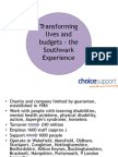 Transforming lives and budgets - the Southwark Experience