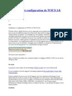 Installation Et Configuration de WSUS 3.0 SP2