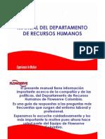 Manual Del Departametno de Recursos Humanos