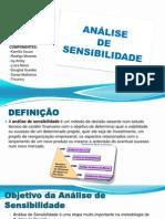 ANÁLISE DE SENSIBILIDADE - APRESENTAÇAO