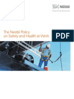 Policy on Safety and Health at Work