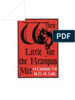 When Little Joe the Krampus Met