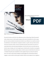 analysis of mise en scene in edward scissor hands edward scissorhands
