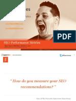 SEO Performance Metrics -RyanJones