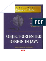 Object Oriented Design in Java 1998