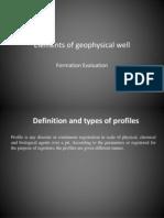 Elementos de geofísica de poço