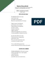 Mario Benedetti - Sólo mientras tanto