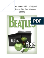 The Beatles Stereo USB 13 Original Studio Albums Plus Past Masters
