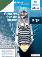 Reka-Kreuzfahrten 2013