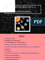Astronomía y mitología