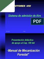 Motores. Sistema admisión