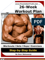 26 Work Out Plan