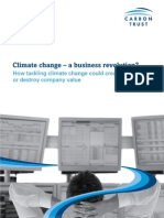 Climate Change - A Business Revolution, From the Carbon Trust