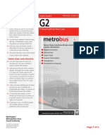 g2 Bus Schedule