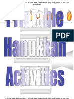 Printable Hanukkah Activities