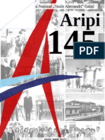 "Revista aniversara ""Aripi 145"" - CNVA Galati"