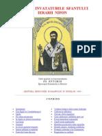 Viata Si Invataturile Sfantului Ierarh Nifon