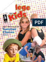 NMC College for Kids Catalog - Summer 2012