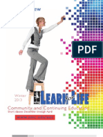 NMC Learn for Life Catalog - Winter 2013