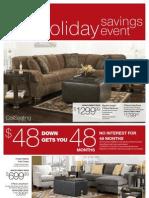 Holiday Savings 2012