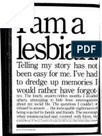"""I am a Lesbian"" by, Chirlane McCray -- Essence Magazine (September 1979)"