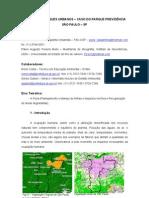 TRILHAS EM PARQUES URBANOS – CASO DO PARQUE PREVIDÊNCIA SÃO PAULO – SP