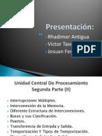 9 - Presentación - Unidad Central de Procesamiento Segunda Parte