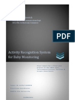 SensAnalytics - Activity Recognition System for baby monitoring