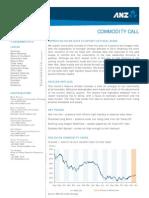 ANZ Commodity Call Dec12
