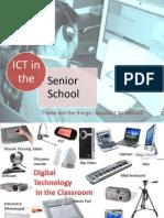 ICT in the Senior School