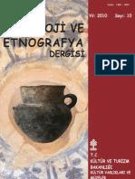 Türk Aekeoloji ve Etnografya Dergisi