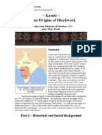 Kasuti - Indian Origins of Blackwork - Maya Heath - 2012