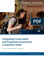 Comparing Conservative and Progressive Investment in America's Youth