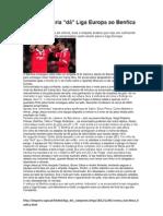 """Pouca pontaria """"dá"""" Liga Europa ao Benfica"""