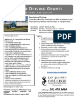 San Jacinto College Truck Driving 2013