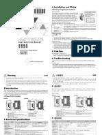 DVPPS01-02 Instruction Tse