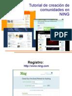Tutorial Crear Comunidad en NING 2009