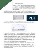 Lista1 de Mecânica Básica 2012-'