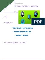 TOP TEN DE LOS MEJORES  REPRODUCTORES DE  AUDIO Y VIDEO