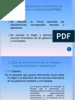 Síntesis metodológica de la estadística de finanzas publicas y municipales(EFIPEM)