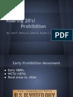 Prohibition Presentation 1