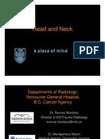 Lecture 12 Head & Neck Slides