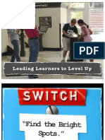 Leading Learners to Level Up #LearnFwd12
