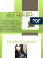 Artichokes_Ballesteros,M_WB From Farm to Table