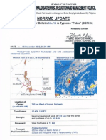 NDRRMC Update SWN no. 15 re Typhoon Pablo (BOPHA)