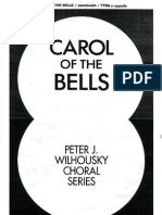 Carol of the Bells TTBB