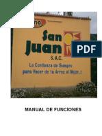 Manual de Funciones Molino San Juan
